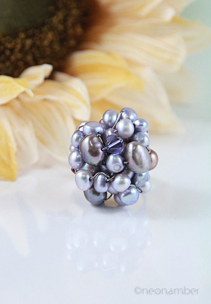 Lilac Cluster Ring