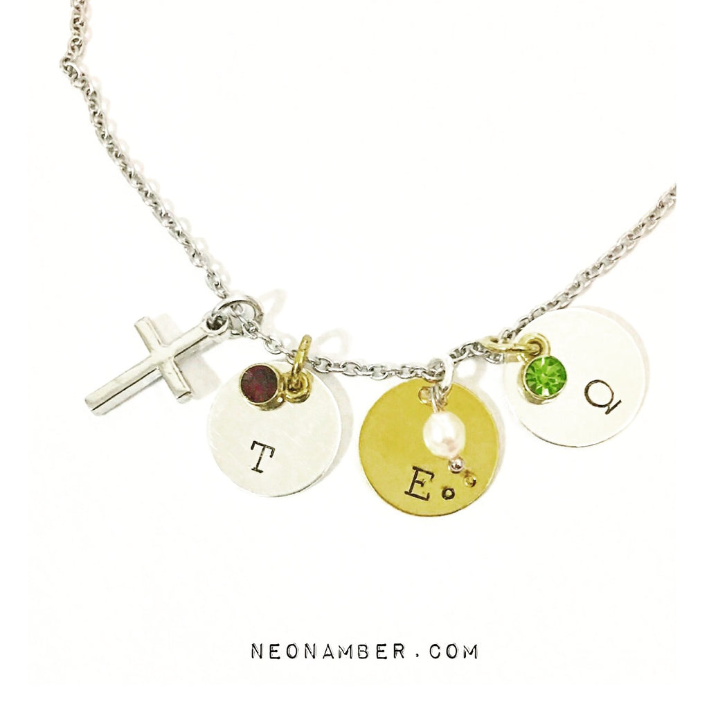 My Love Initial Necklace