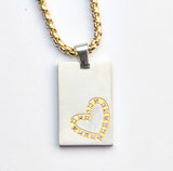 Heart Tag Bling
