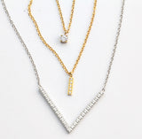 "The V Bling ""Share the Light"" Necklace"