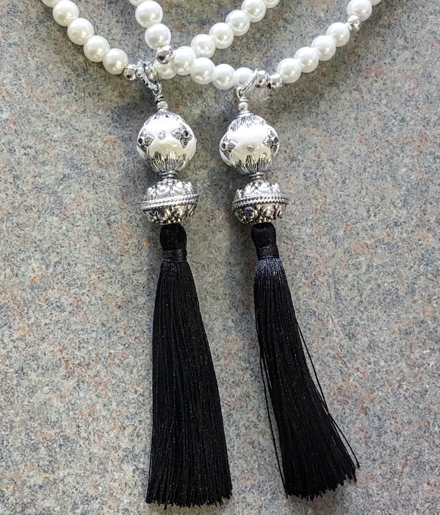 The Pearl Tassel Necklace