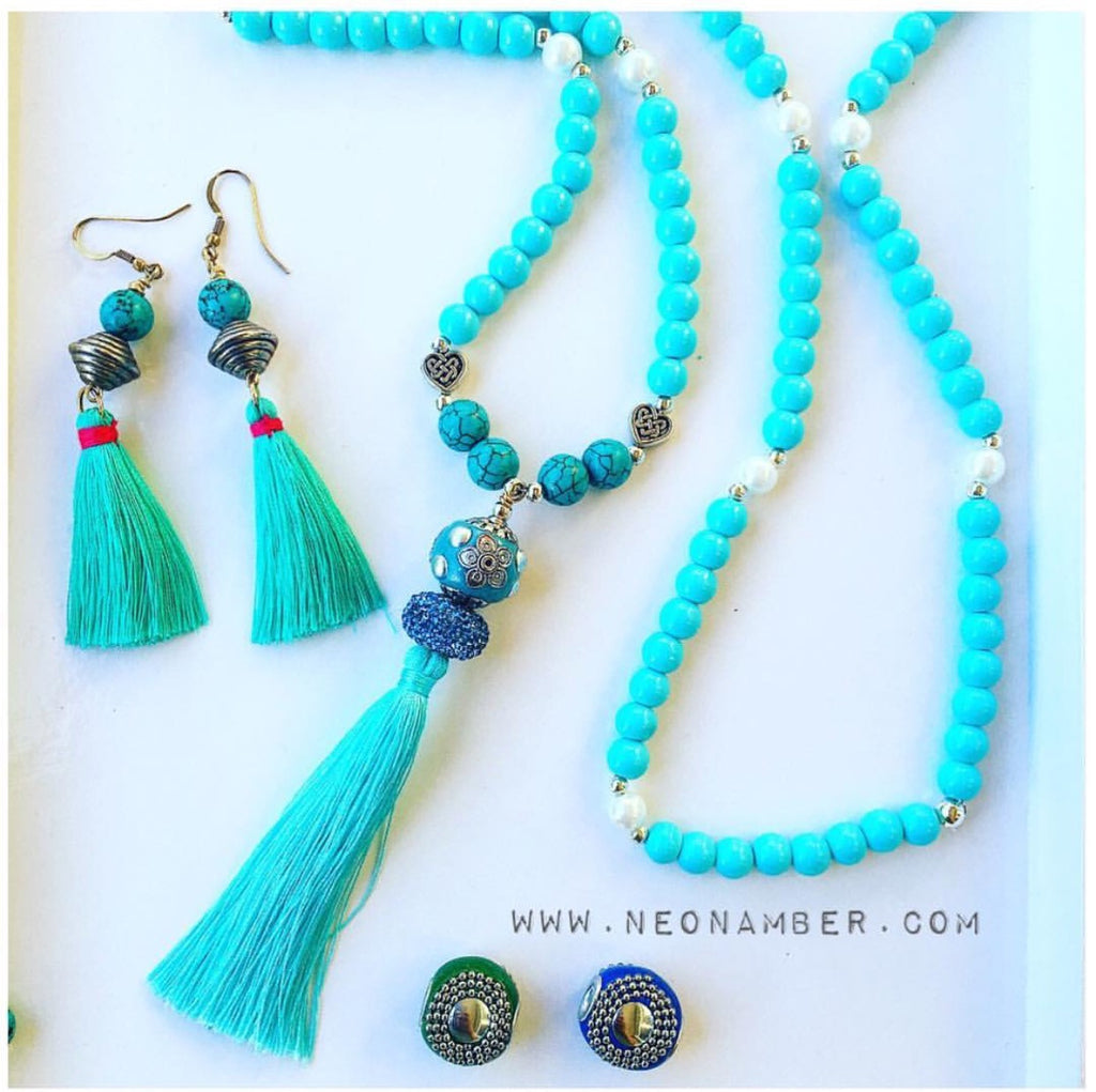 The Turquiose Mala Beads