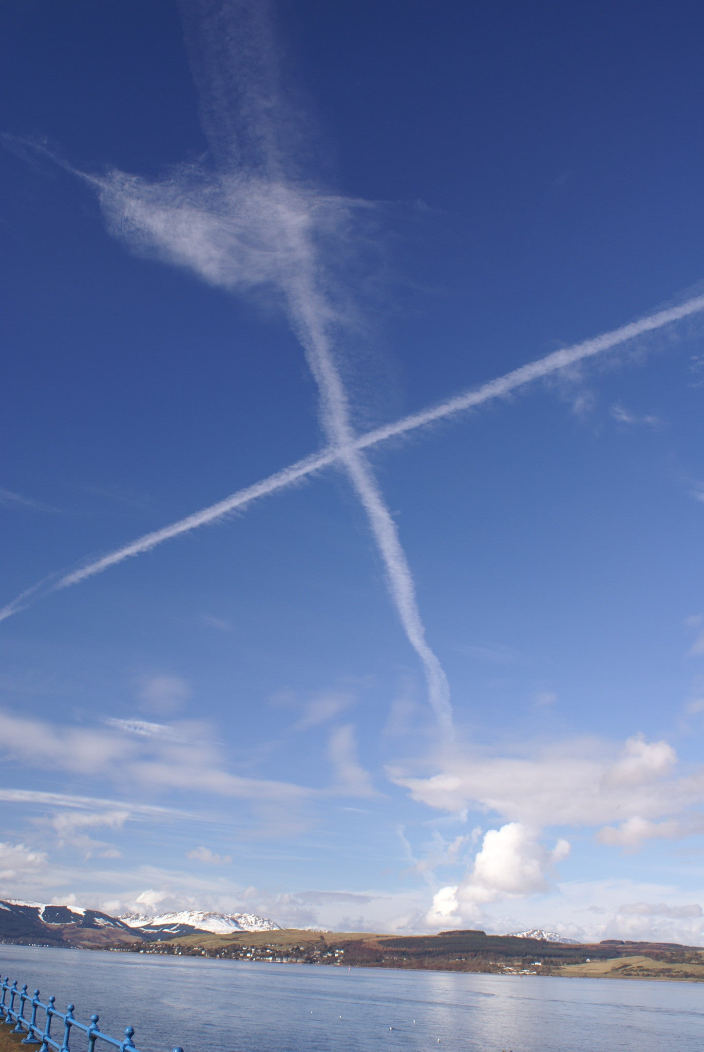 Saltire over Scotland 2