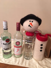Snowman Bottle Cover