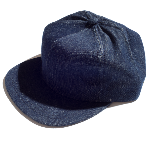 MEYVN 6 PANEL BASEBALL CAP IN DENIM, DARK INDIGO, NS