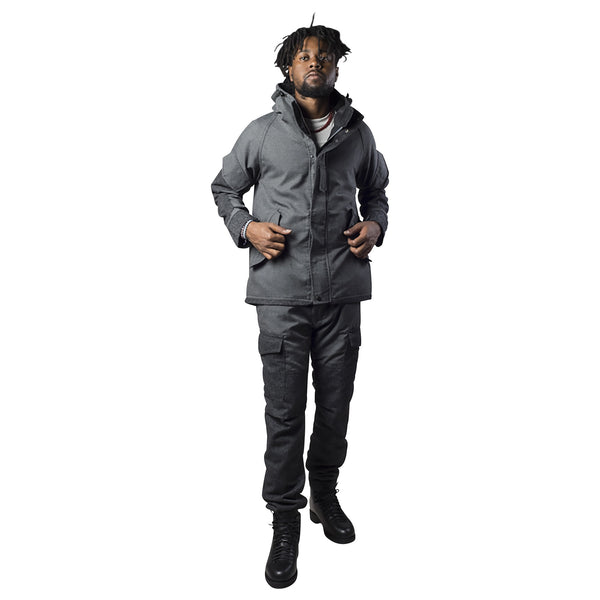 BLURHMS HOODED FIELD JACKET