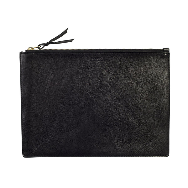 LOTUFF ZIPPER IPAD POUCH-BLACK