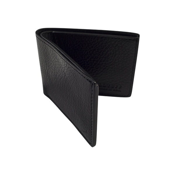 LOTUFF TWO-POCKET BIFOLD WALLET-BLACK