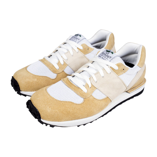 VICTORY SPORTSWEAR TRAIL RUNNER CAMEL SUEDE/WHITE MESH