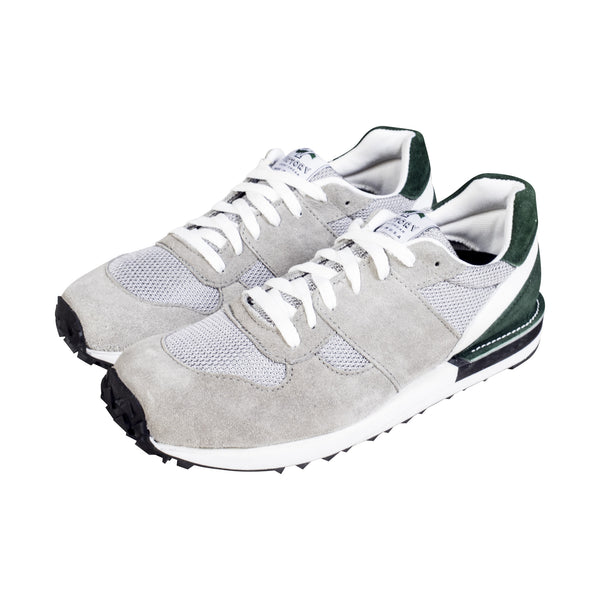 MEYVN X VICTORY TRAIL RUNNER GREY/GREEN SUEDE/GREY MESH