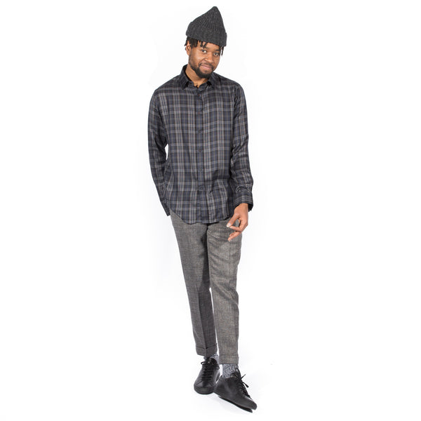 N. HOOLYWOOD PLAID SHIRT