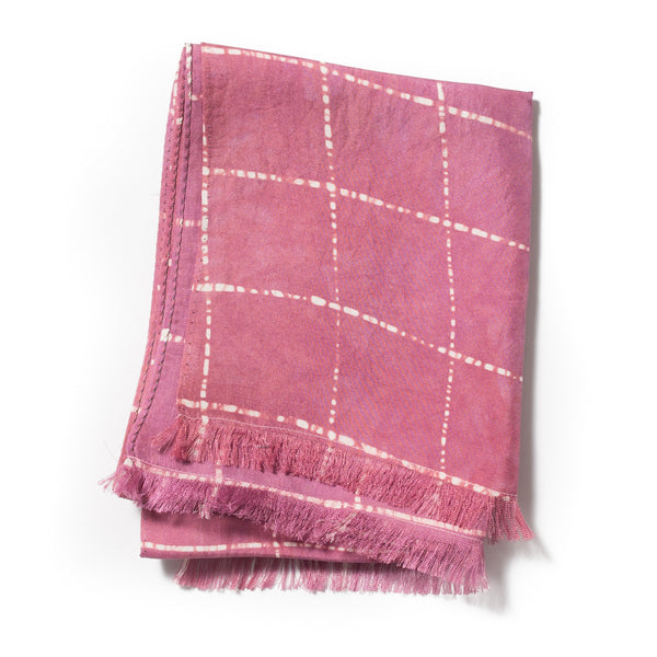 POST-IMPERIAL WINDOWPANE SCARF