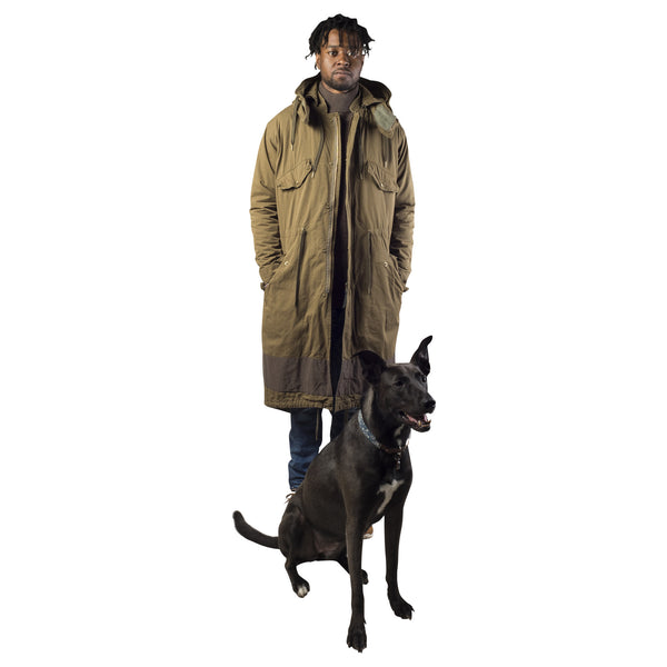 ROBERT GELLER VINCENT HOODED PARKA