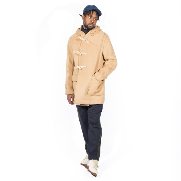 TS(S) SUPER 160 WOOL BEAVER DOUBLE CLOTH DUFFLE COAT