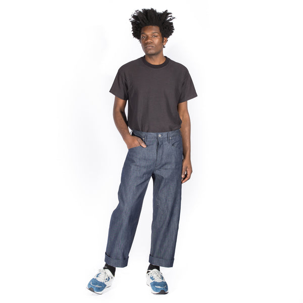 FROGS EAT BUTTERFLIES THE SHUG 5 POCKET PANT INDIGO