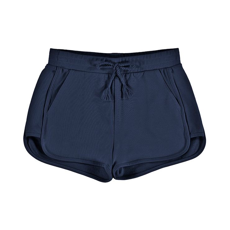 Navy Sporty Shorts for Big Girl