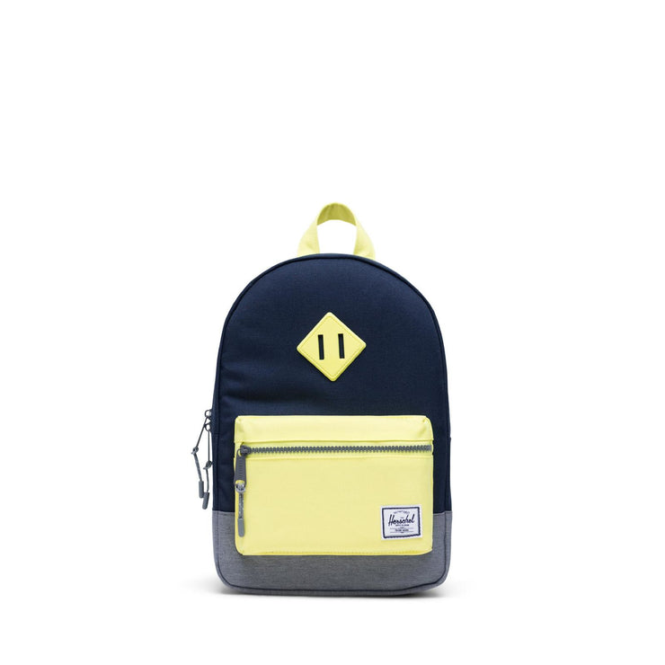 Youth Heritage Green and Grey Backpack