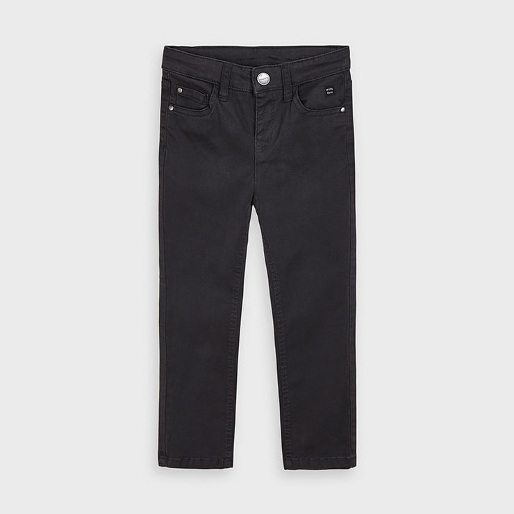 Black Regular Fit Trouser