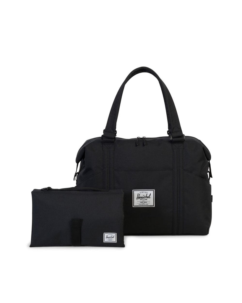 black sprout diaper bag