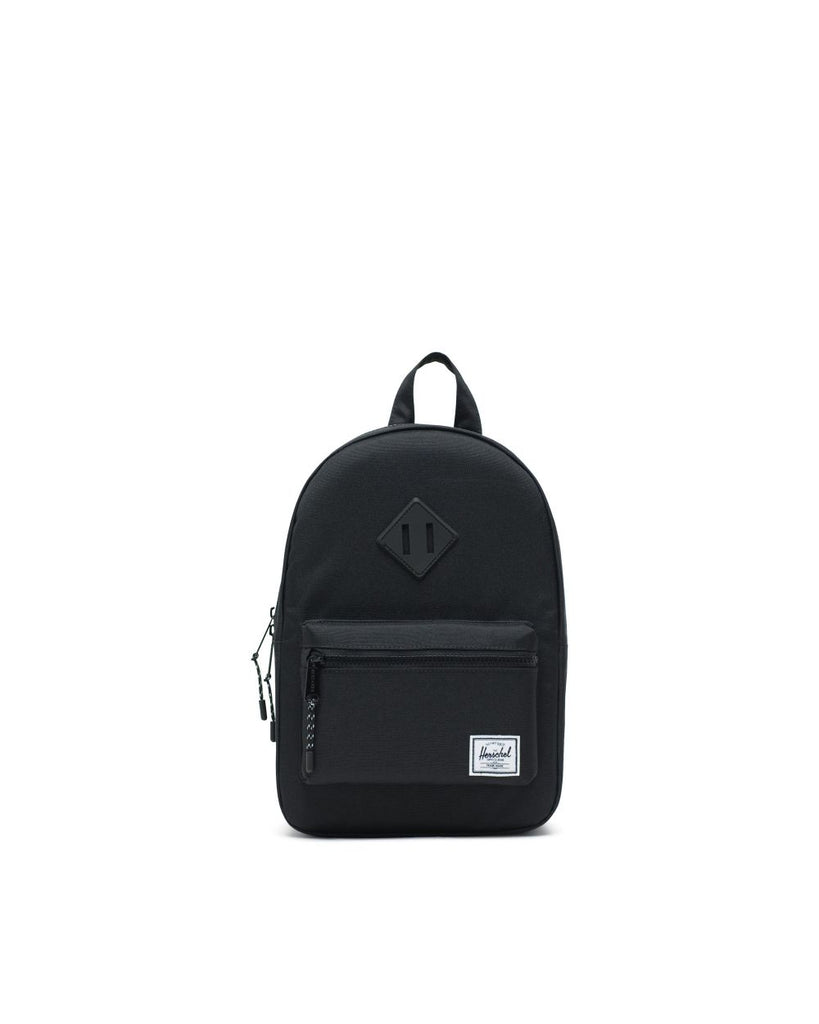 heritage youth black backpack