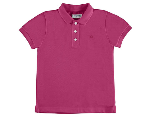 paradise pink polo