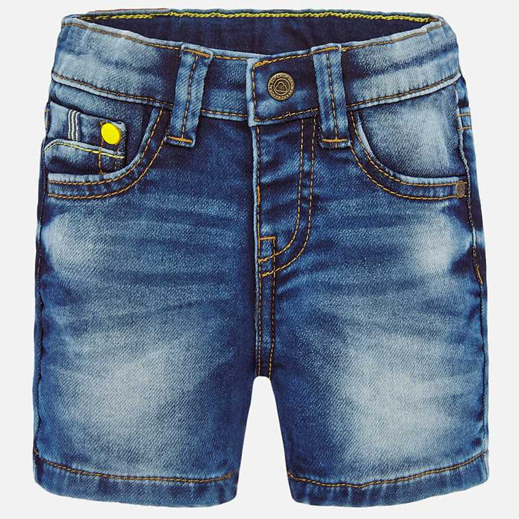 Denim Bermuda Shorts For Baby Boy