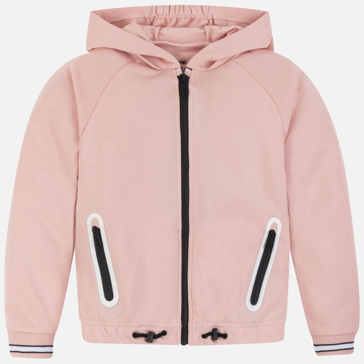 Pink Hooded Sweatshirt for Big Girl