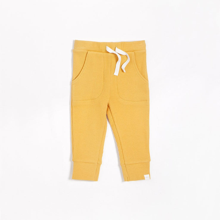 Golden Yellow Knit Pant