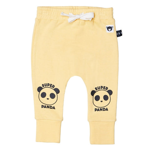 super panda drop crotch pants
