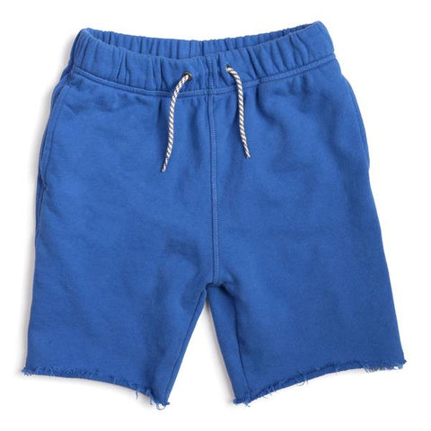 city blue camp shorts