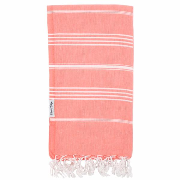 Everyday Turkish Standard Towel Coral