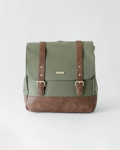olive marindale diaper back pack