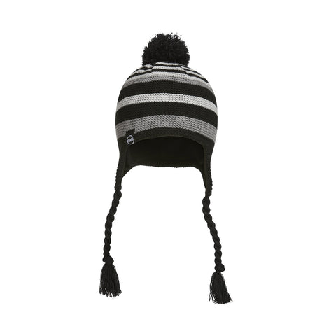 black candy man stripe hat