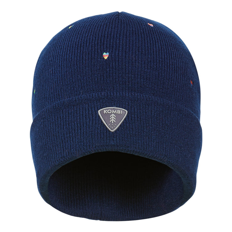 Preppy Embroidered Toque - Children in Estate Blue