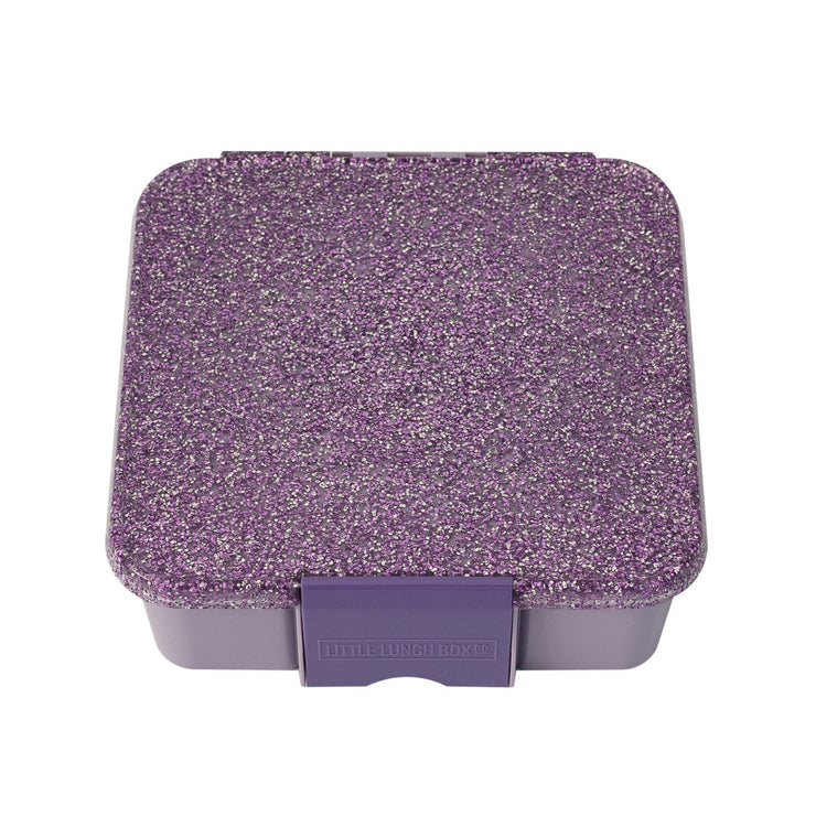 Bento Three Purple Glitter