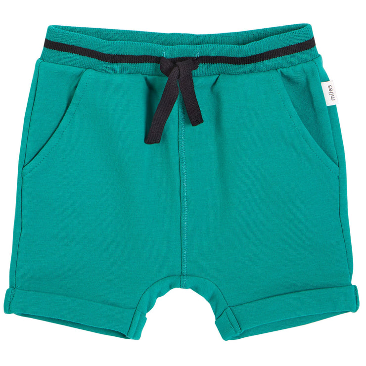 Boy Green Knit Shorts