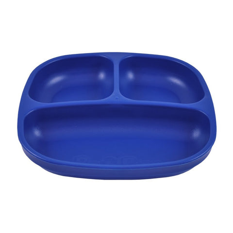 navy divided plate