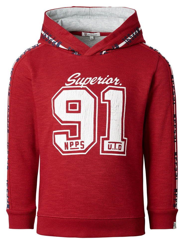 Red 91 Superior Hoddie