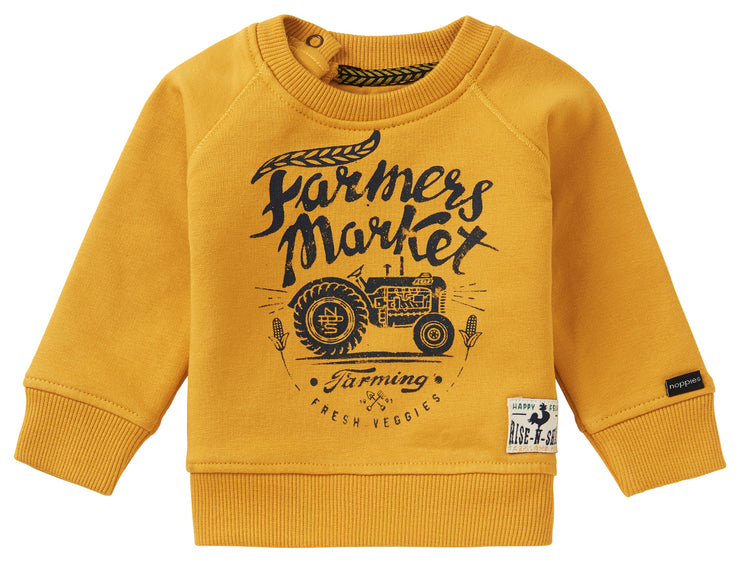 Mustard Yellow Farmer Market Sweater