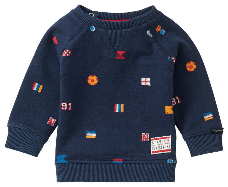 Navy Spongerdorp Sweater