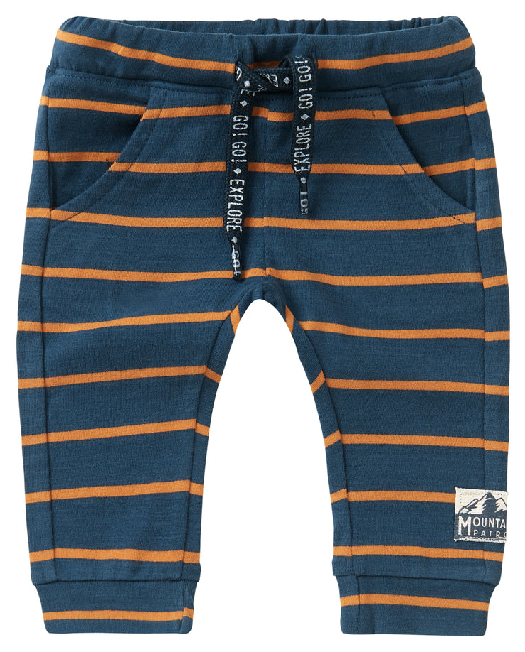 Navy Stripe Sweatpants Klawer