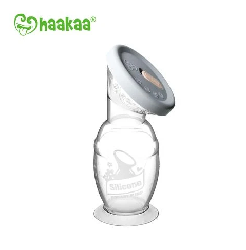 Haakaa Silicon Breast Pump and Cap Set