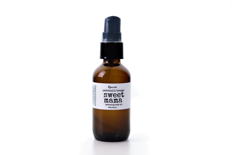 K'Pure Sweet Mama Body Oil, Almond Cookie, 60ml