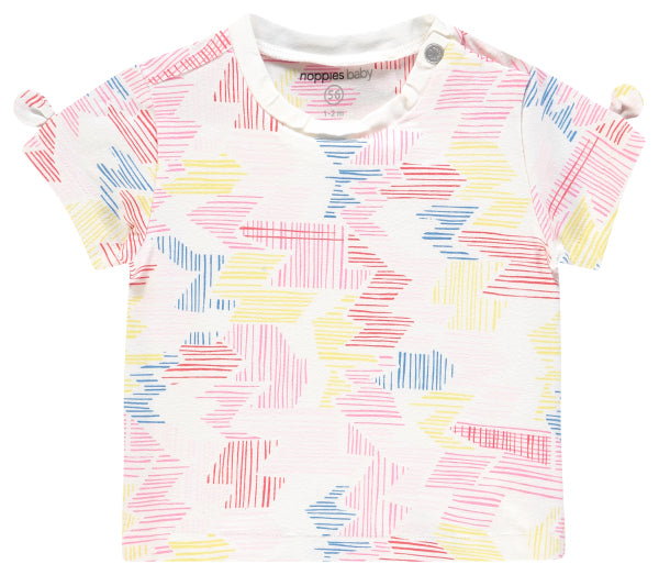 multi color roma dash shirt