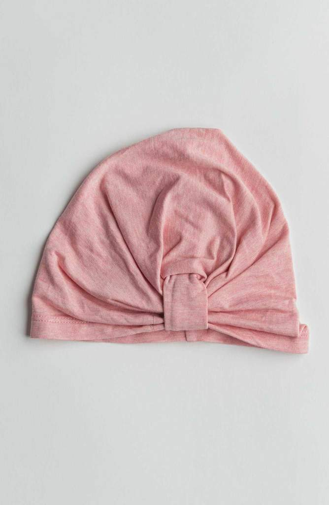 Girl's Turban in TENCEL™ - Heather Pink