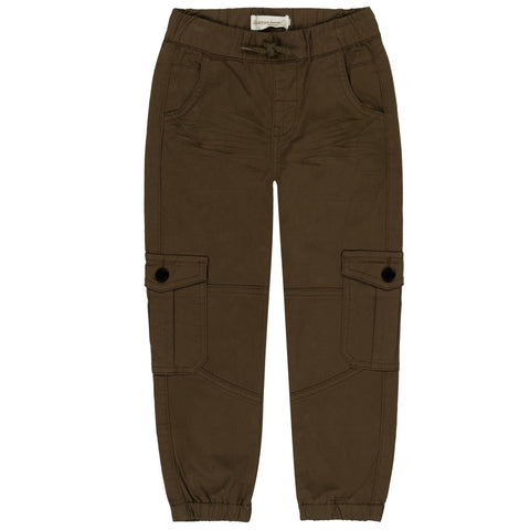 olive green cargo jogger twill pants