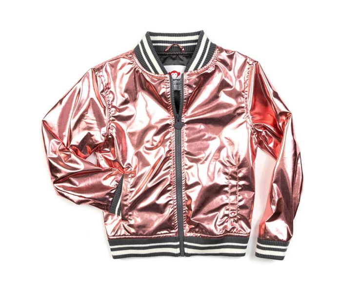 Rose Gold Nikki Bomber