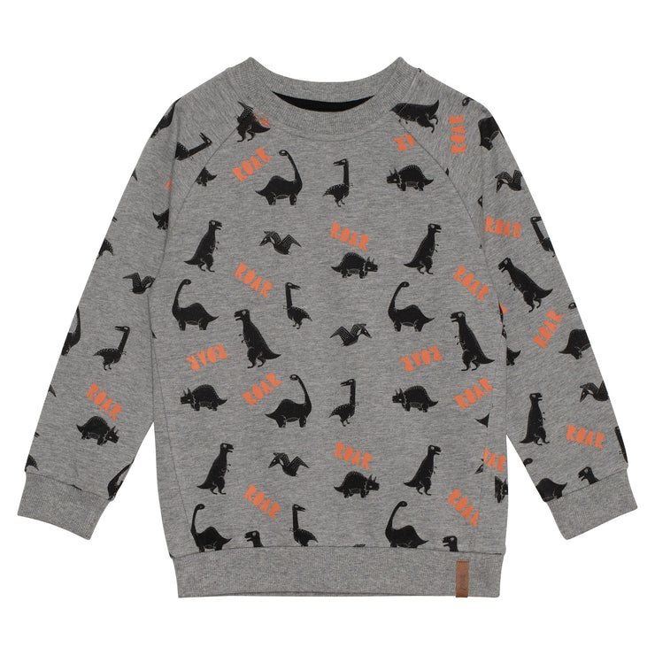 Dino Printed French Terry Sweatshirt