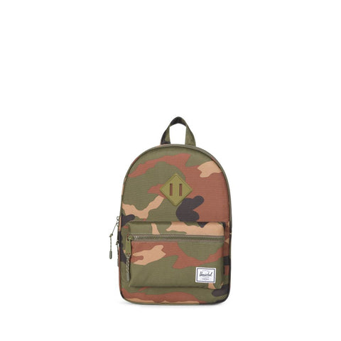 woodland camo kids backpack
