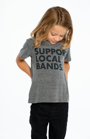 support local bands tee